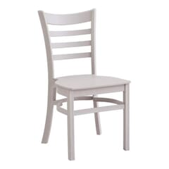 Grey Ladderback Indoor/Outdoor Restaurant Chair