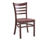 Java Ladderback Indoor/Outdoor Restaurant Chair