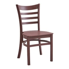 Java Ladderback Indoor/Outdoor Restaurant Chair