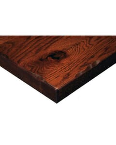 Rustic Solid Oak Plank Table Top