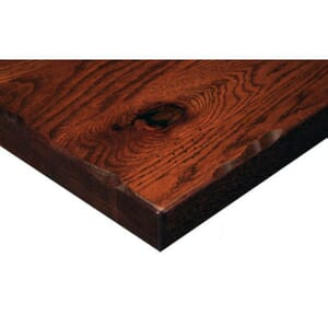 Solid Oak Rustic Plank Table Top