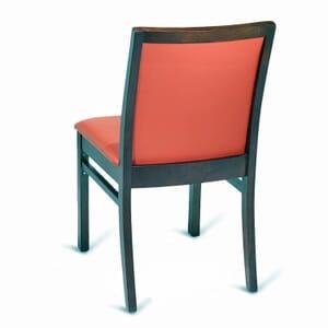 Upholstered Walnut Wood Morgan Restaurant Chair