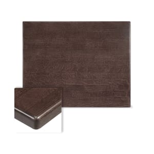 Rectangular Solid Beech Wood Table Top in Walnut