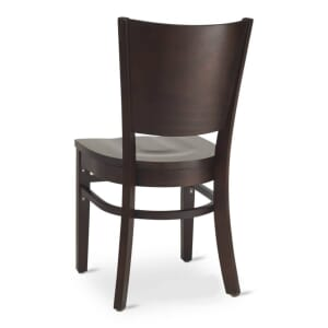 Walnut Wood Contempo Commercial Chair
