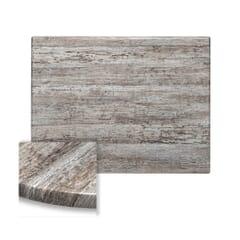 Werzalit Composite Outdoor Table Top in Reclaimed Wood