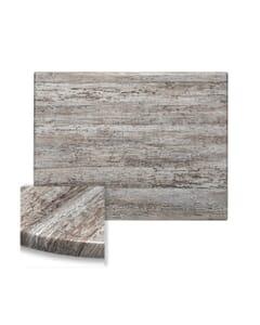 Rectangular Werzalit Wood Composite Outdoor Dining Table Top in Reclaimed Wood