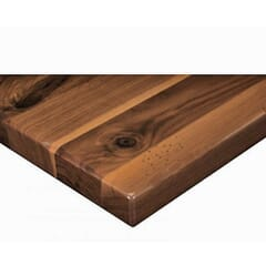 Solid Walnut Rustic Plank Table Top