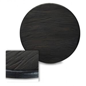 Reclaimed Ash Solid Wood Table Top in Antique Black