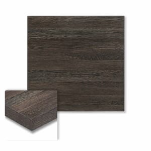 """Honeycomb Core High Pressure Melamine Indoor Zebrano Square Dining Table Top (30""""x 30"""")"""