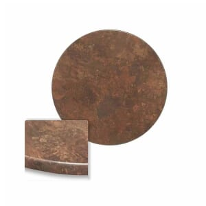 Werzalit Composite Outdoor Table Top in Copper