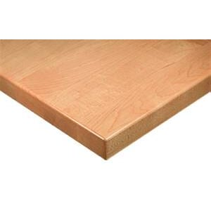 Solid Maple Wood Plank Table Top