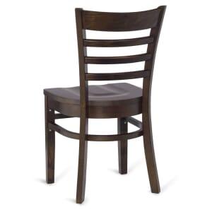 Walnut Wood Ladderback Commercial Chair