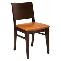 Solid Wood Madison Commercial Chair in Walnut