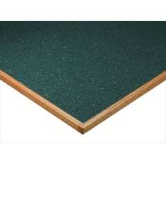 Commercial Laminate Table Top with Wood Edge