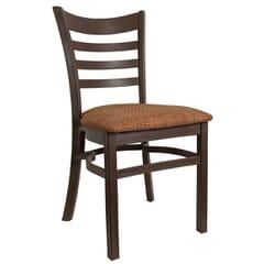 Java Ladderback Indoor/Outdoor Stackable Restaurant Chair