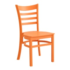 Mango Ladderback Indoor/Outdoor Restaurant Chair