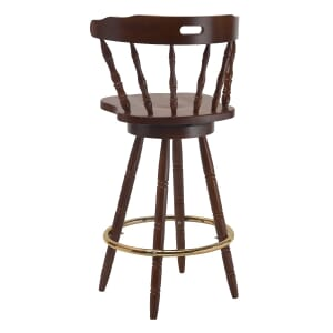Captain's Mate Bar Stool in Walnut