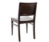 Walnut Wood Commercial Chair