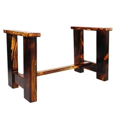 Solid Russian Pine Wood Commercial Table Base