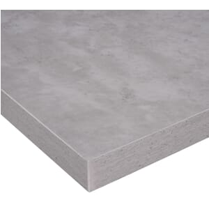 Honeycomb High-Pressure Melamine Indoor Table Top in Cement Finish