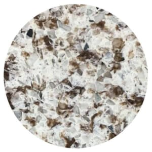 Quartz Restaurant Table Top Chocolate Blizzard (48