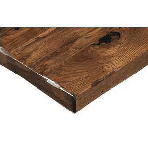 Solid Multi-Species Rustic Plank Table Top