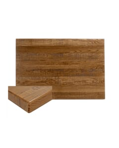American Red Oak Solid Wood Table Top - Rectangle