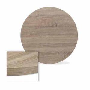 Honeycomb High-Pressure Melamine Indoor Table Top in Oak