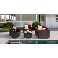 Siena Outdoor Wicker Lounge Set