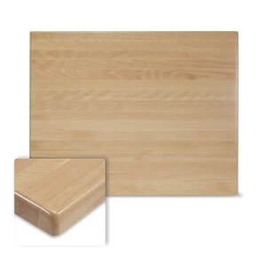 Solid Beech Wood Table Top in Natural