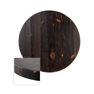 "Solid Wood Russian Pine Round Dining Table Top (36"")"