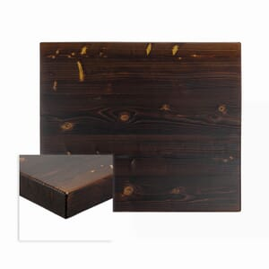"""Solid Wood Russian Pine Rectangular Dining Table Top (24"""" x 30"""")"""