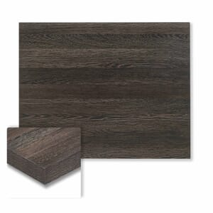 "Honeycomb Core High Pressure Melamine Indoor Zebrano Rectangular Dining Table Top (30""x 48"")"