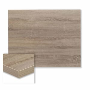 Rectangular Honeycomb Core Table Top in Oak
