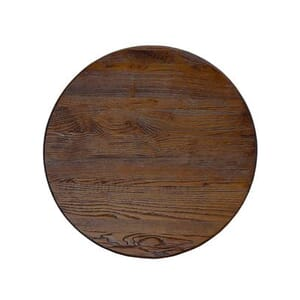 "Reclaimed Ash Wood Round Dining Table Top (24"")"