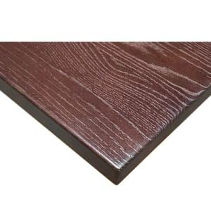 Solid Oak Plank Table Top in Walnut