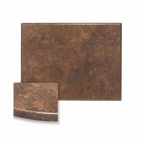 "Werzalit Copper Rectangular Outdoor Dining Table Top (32"" x 48"")"