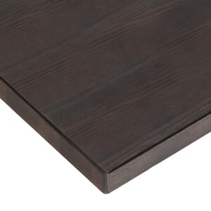 Solid Oak Wood Plank Dining Table Top in Walnut